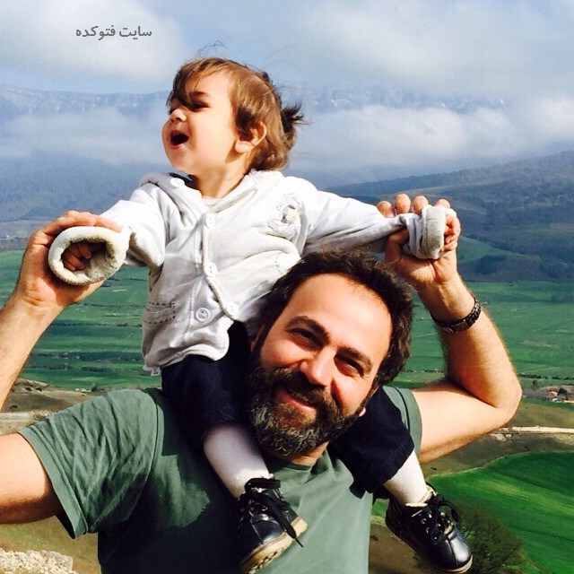عکس آرش مجیدی و دخترش میشا + زندگی شخصی