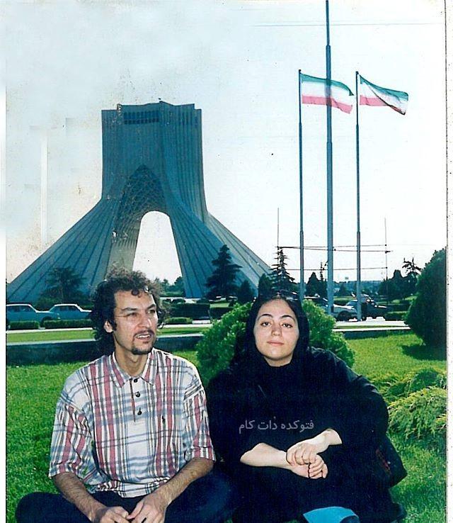 عکس قدیمی آرش میراحمدی و همسرش در قدیم