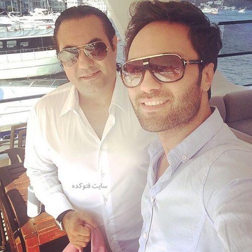 عکس آرش قنادی و برادرش امیر قنادی + بیوگرافی کامل