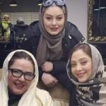 عکس بازیگران زن در آرایشگاه مریم سلطانی