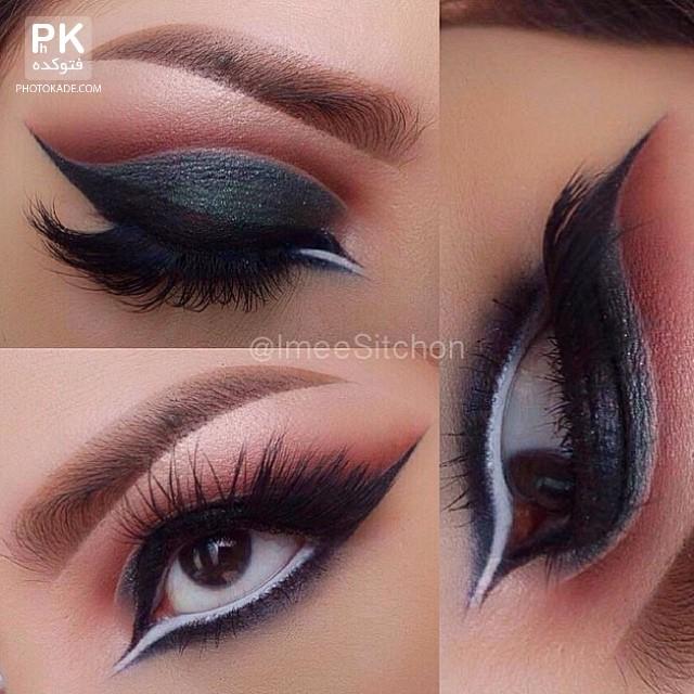 مدل های زیبا و قشنگ آرایش چشم,آرایش چشم و لب,عکس های مدل آرایش چشم,عکس آموزش چشم آرایی,عکس آرایش چشم و لب,آرایش های زیبای چشم و لب,مدل قشنگ,میکاپ چشم دختر