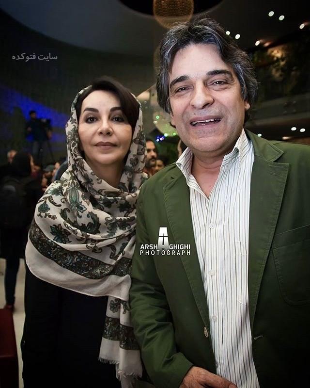 عکس اردلان شجاع کاوه و همسرش اليزا اورامی + بیوگرافی