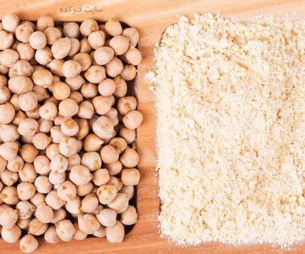خواص آرد نخودچی برای پوست و مو و سلامتی بدن