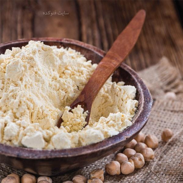 خاصیت آرد نخودچی برای لاغری و کلسترول