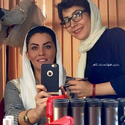 عکس آرزو نبوت و همسرش + بیوگرافی