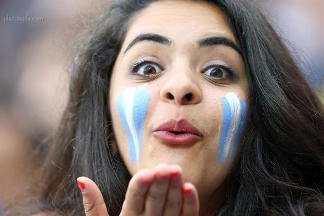 بوسه و لب تماشاگران جام جهانی 2014 برزیل