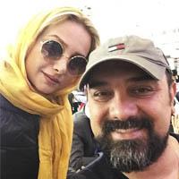 برزو ارجمند و همسرش + زندگی و ماجرای ازدواج