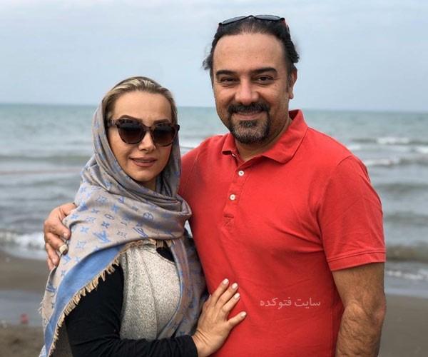 پارمیس زند همسر برزو ارجمند کیست + بیوگرافی