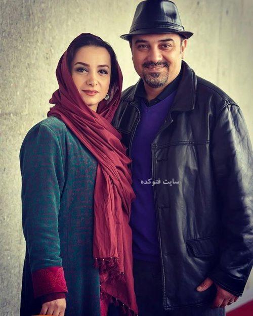بیوگرافی برزو ارجمند و همسرش پارمیس زند + عکس خانوادگی