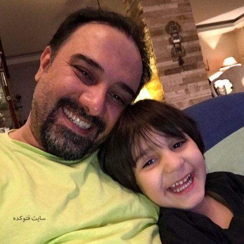 عکس برزو ارجمند و پسرش جانیاز + زندگینامه