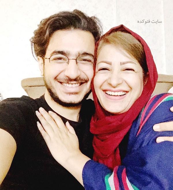 عکس های آرمین رحیمیان و مادرش