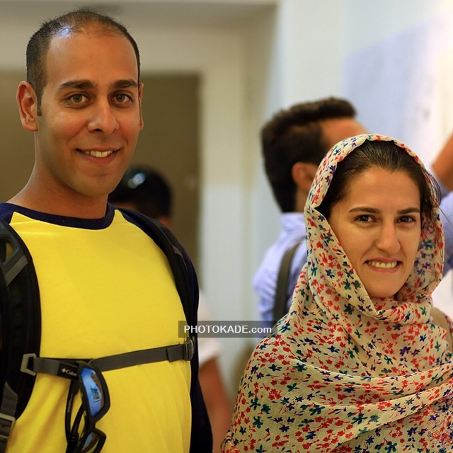 عکس ارشا اقدسی Arsha Aghdasi و مهسا احمدی بدلکار