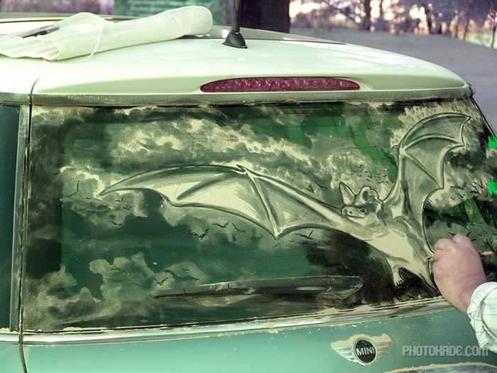 art dirty car (11)