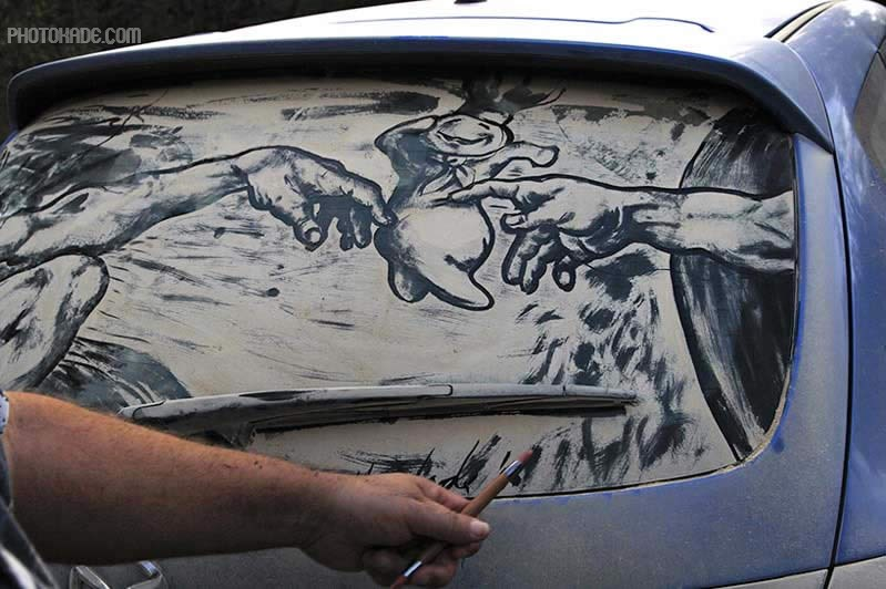art dirty car (14)