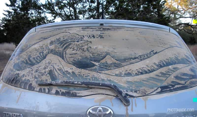 art dirty car (19)