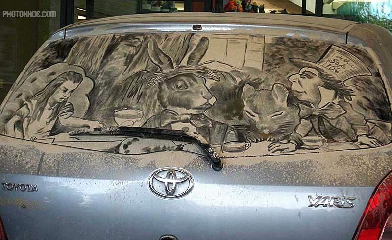 art dirty car (8)