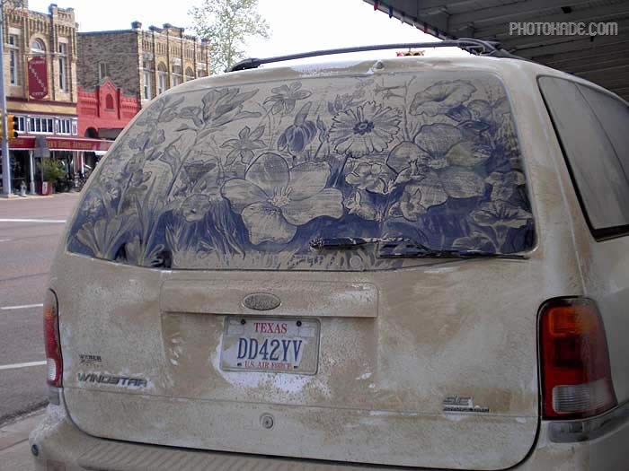 art dirty car (9)