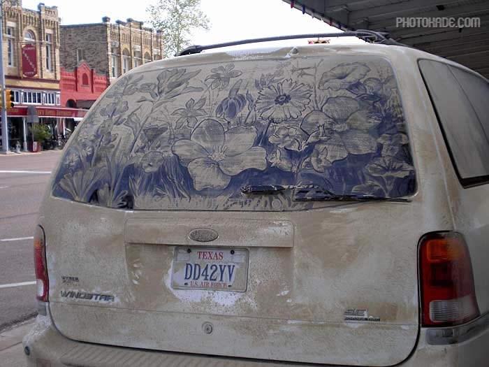art dirty car (9)