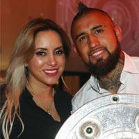 بیوگرافی آرتورو ویدال و همسرش + زندگی شخصی فوتبالی