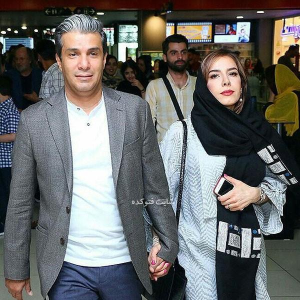 aryaaziminezhad photokade com 2 - بیوگرافی آریا عظیمی نژاد و همسرش راحله شه دل + پسرش