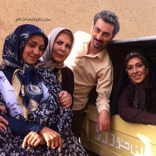 عکس ارژنگ امیرفضلی و همسرش + بیوگرافی