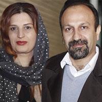 اصغر فرهادی و همسرش پریسا بخت آور