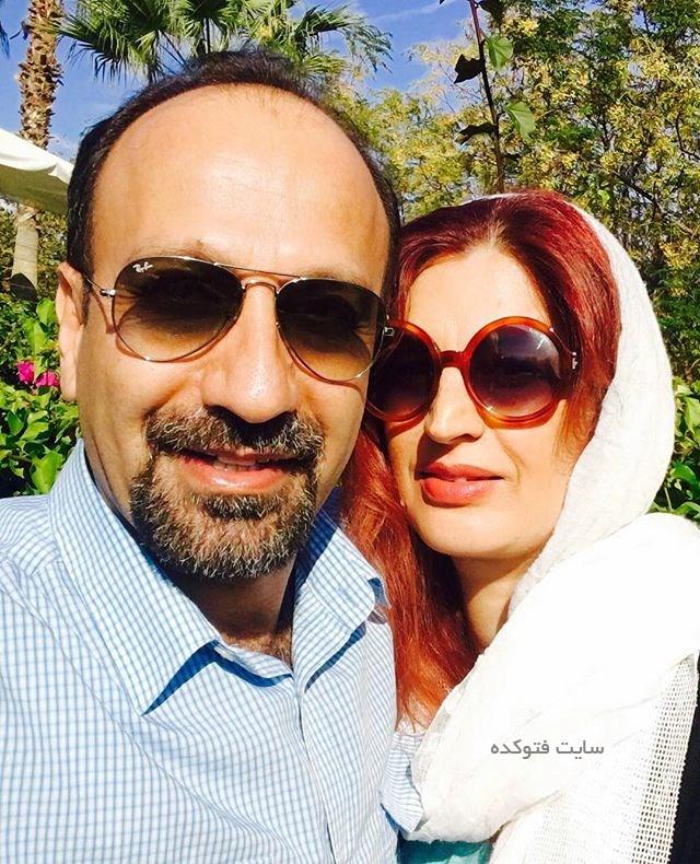 بیوگرافی اصغر فرهادی و همسرش پریسا بخت آور
