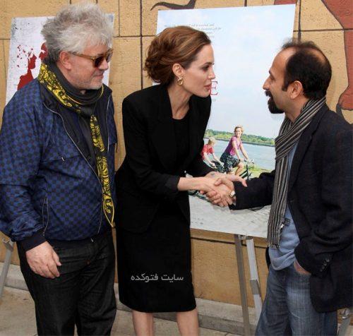 بیوگرافی اصغر فرهادی و همسرش پریسا بخت آور + عکس خانوادگی