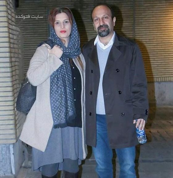 عکس پریسا بخت آور همسر اصغر فرهادی