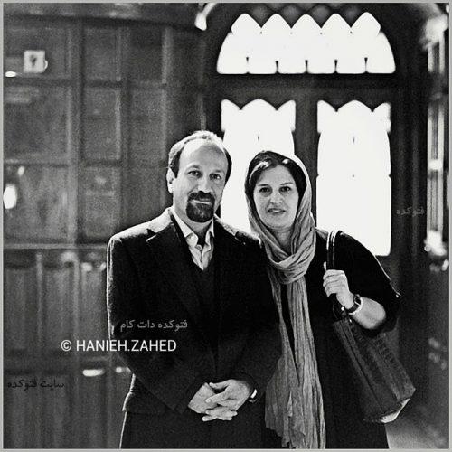 عکس اصغر فرهادی و همسرش + بیوگرافی,عکس اصغر فرهادی و همسرش پریسا بخت آور,عکس و بیوگرافی اصغر فرهادی کارگردان مشهور ایرانی,همسر اصغر فرهادی کیست با عکس
