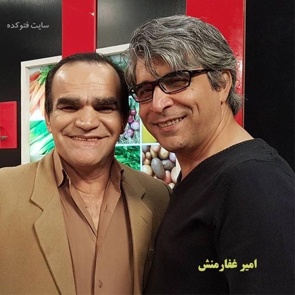عکس های اصغر حیدری و امیر غفارمنش