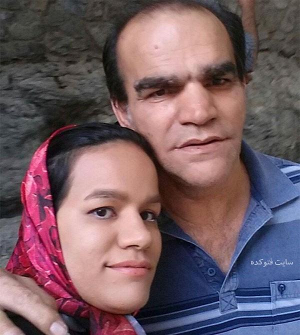 اصغر حیدری بازیگر و دخترش + بیوگرافی کامل
