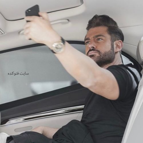 عکس محمدرضا گلزار بازیگر سریال عاشقانه