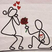 عکس عاشقانه زیبا و پاک با متن های قشنگ