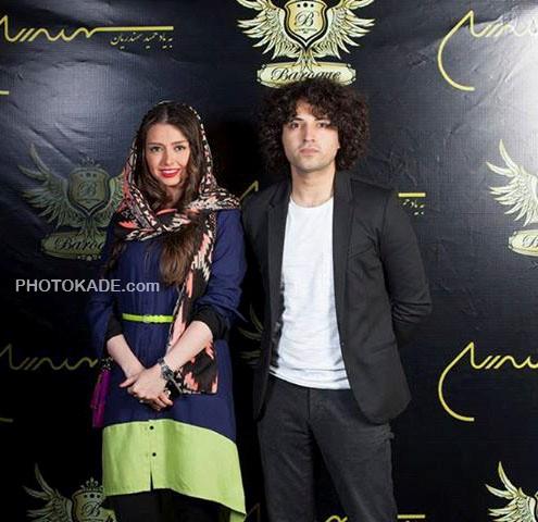 عکس اشکان خطیبی و همسرش اولش