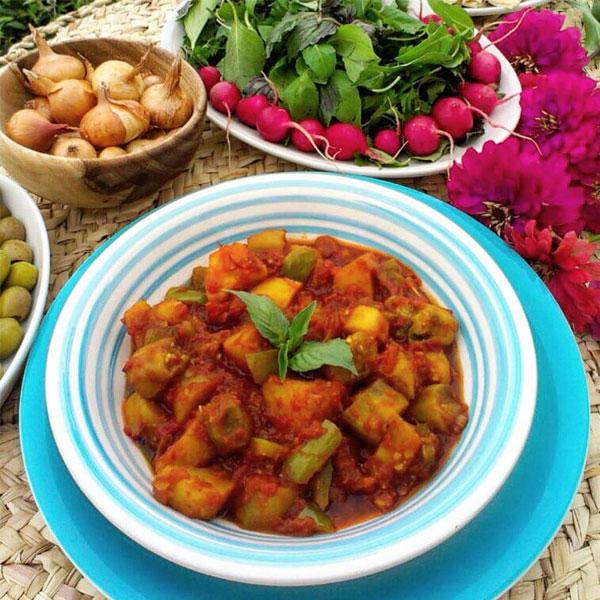 طرز تهیه یتیمچه بادمجان آذربایجان با عکس
