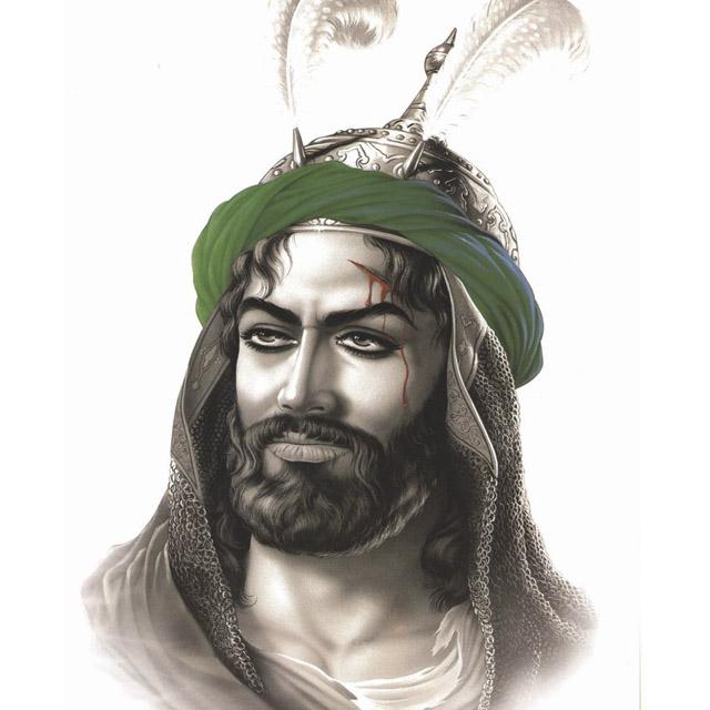 عکس تمسال امام حسین (ع) برای پروفایل