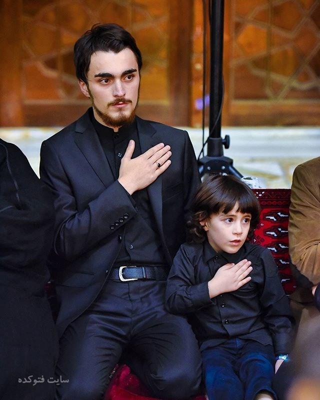 عکسسید احمد خمینی نتیجه امام خمینی