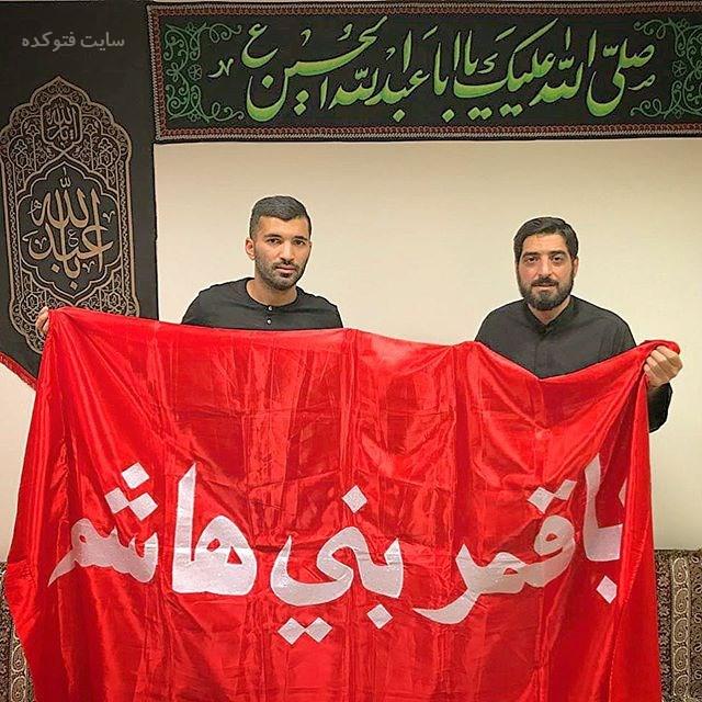 محسن مسلمان و مجید بنی فاطمه در هئیت (بیوگرافی)