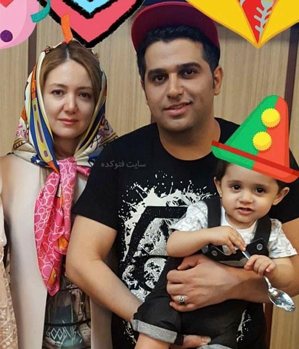 عکس حمید عسکری و همسرش آنا آرمیته
