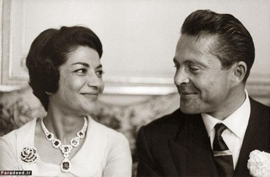 عکس های دیده نشده ازدواج اشرف پهلوی