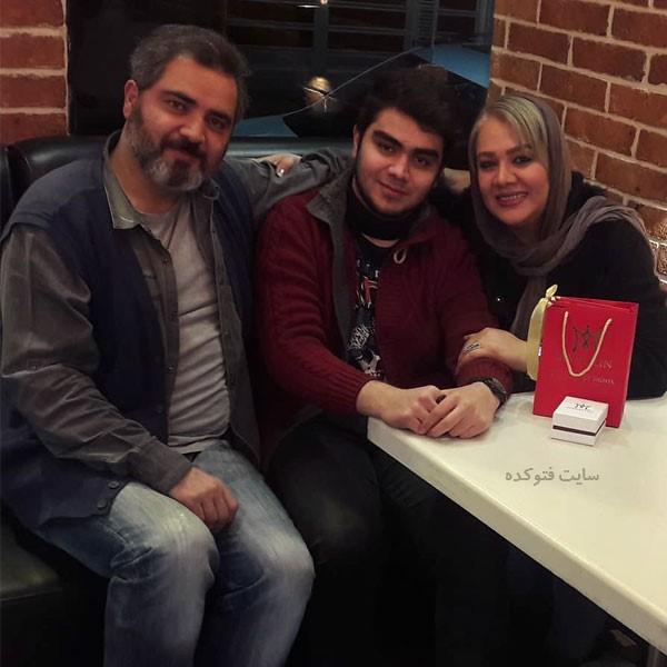 همسر اتابک نادری و پسرش با عکس و بیوگرافی