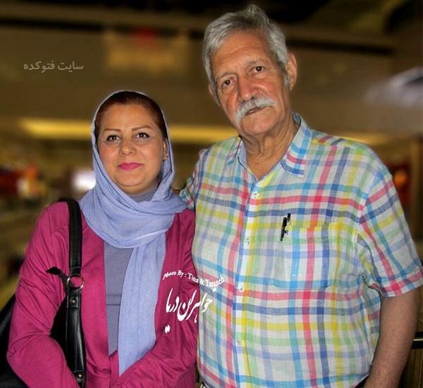 بیوگرافی شهین علیزاده و همسرش با عکس