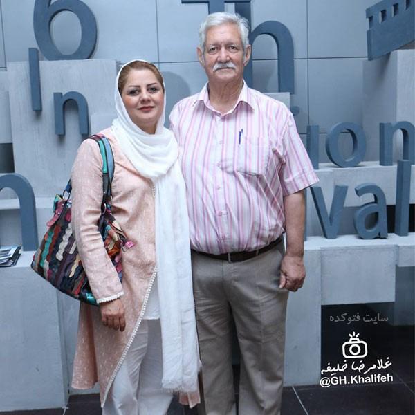 عکس های آتش تقی پور و همسرش شهین علیزاده