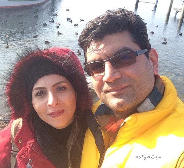 علی عطشانی کارگردان و داستان زندگی شخصی و همسرش