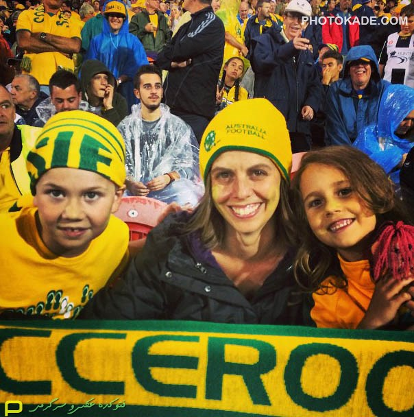 عکس تماشاگران استرالیا و امارات در جام ملت های آسیا 2015,تماشاگران بازی استرالیا و امارات در جام ملتهای اسیا 2015,عکس بازی استرالیا و امارات,تماشاگر فوتبال