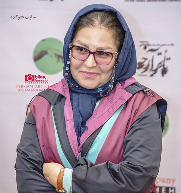 عکس اکرم محمدی در بیوگرافی بازیگران سریال اولین شب آرامش