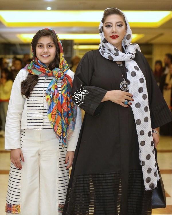 عکس و بیوگرافی زهرا داوود نژاد و دخترش