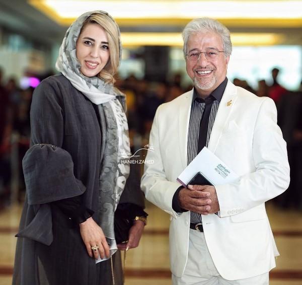 علیرضا خمسه و همسرش در عکس بازیگران مرد تابستان 98