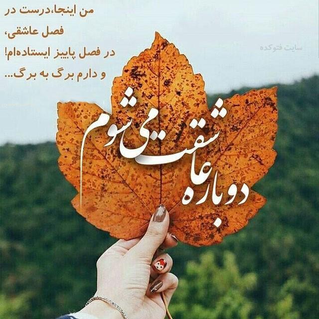ax paeizi photokade 6 - 100 عکس پروفایل پاییزی خفن دو نفره + متنو عکس عاشقانه پاییز